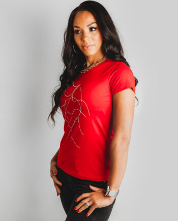 Red Be You Not Them Fuller Bust Tshirt