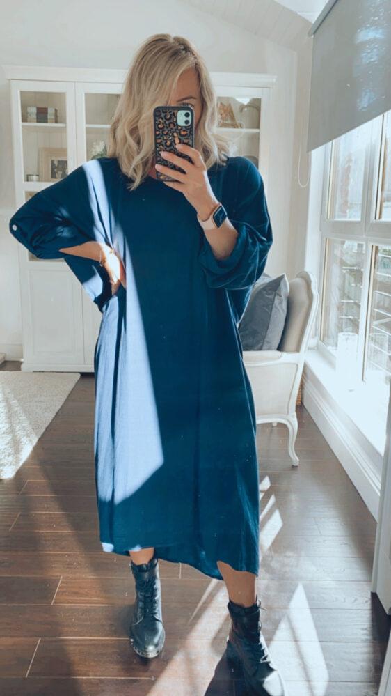 Fuller bust curve friendly dress