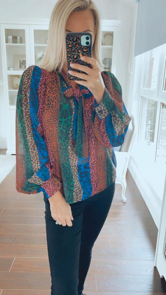 fuller bust blouse top