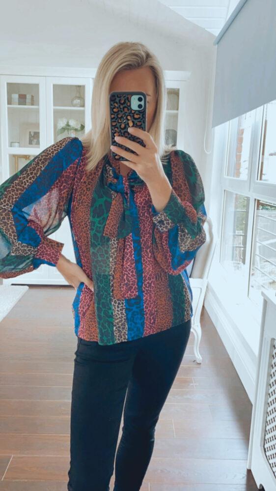 fuller bust blouse