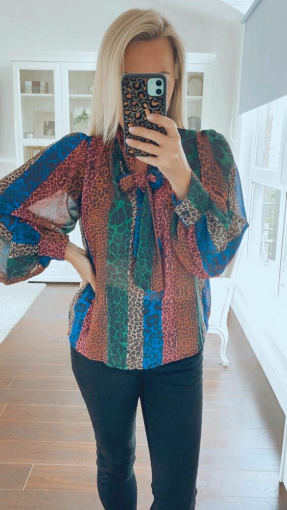 fuller bust top blouse