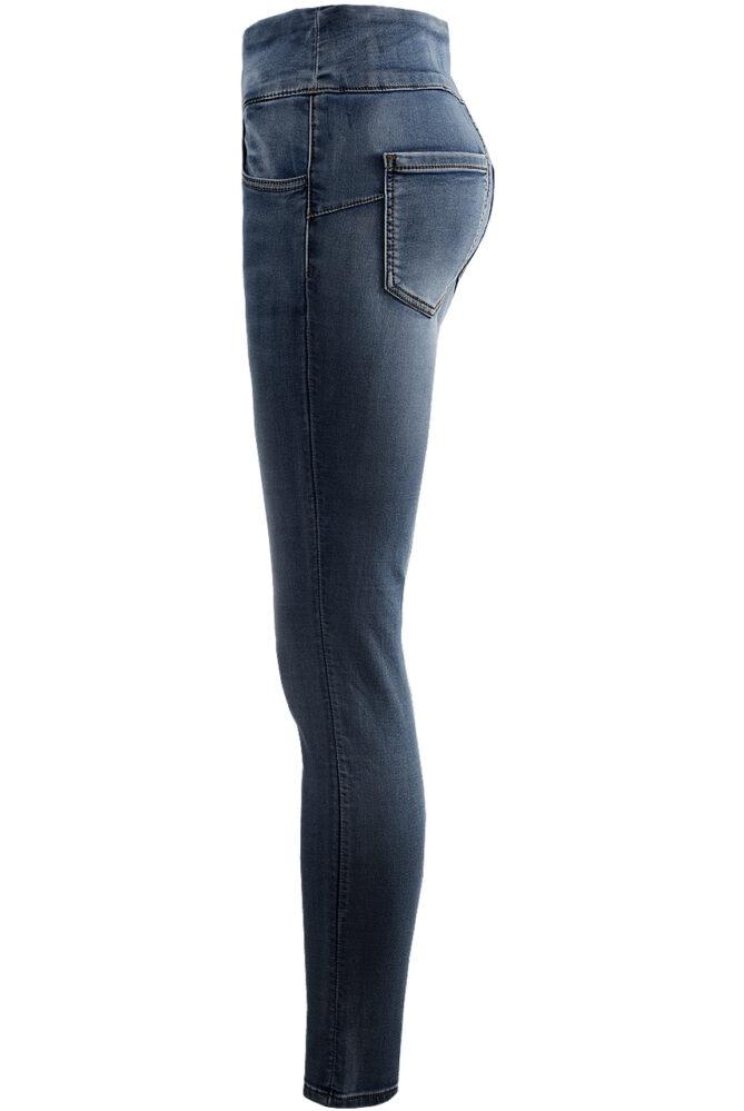 curve friendly jeans blue