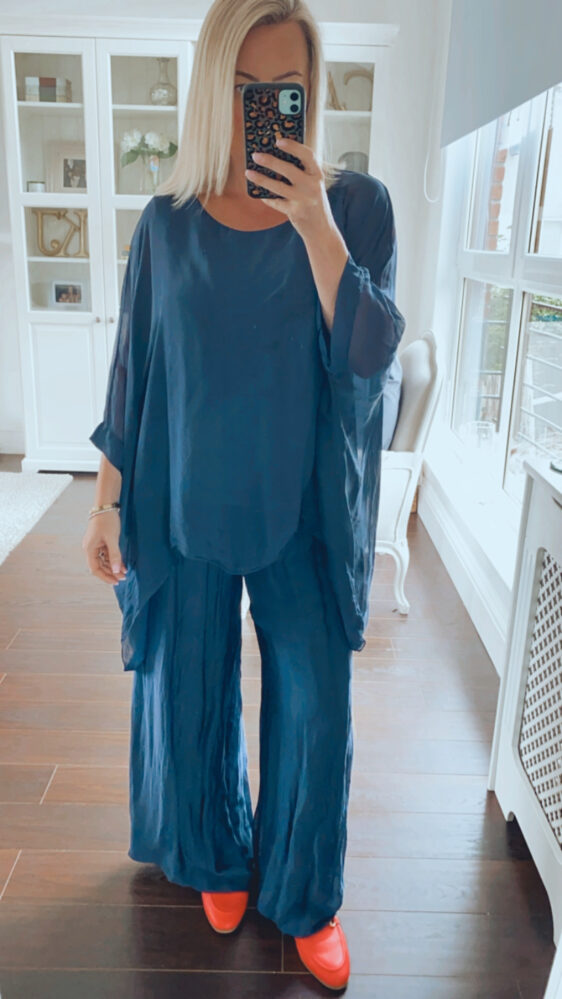 fuller bust top and trouser